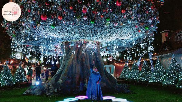 2019新北歡樂耶誕城:一秒變仙子!魔法森林沐浴、免費旋轉木馬、咖啡杯