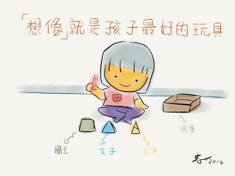 「想像」是孩子最好的玩具