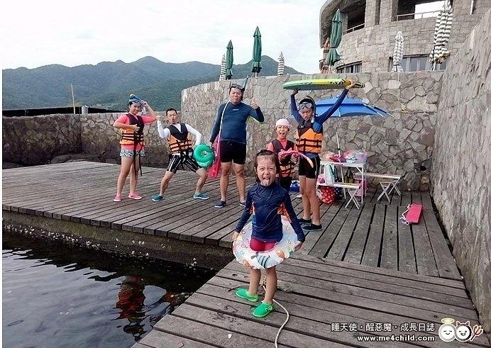 玩水囉!「龍洞灣潛水公園」戲水、浮潛、獨木舟、潛水訓練活動,徜徉海洋懷抱與魚兒悠遊樂!
