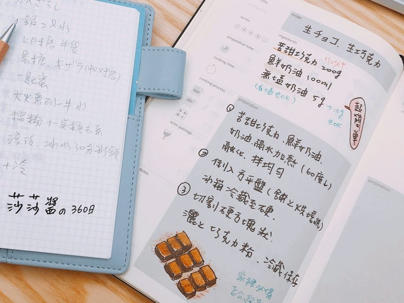 家人微笑的食譜筆記