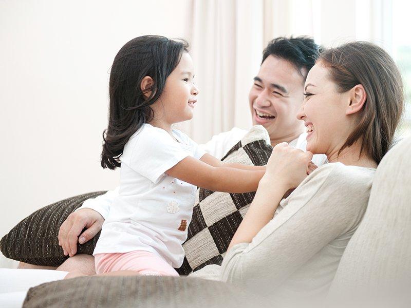父母的相愛與合作~孩子成長的根源