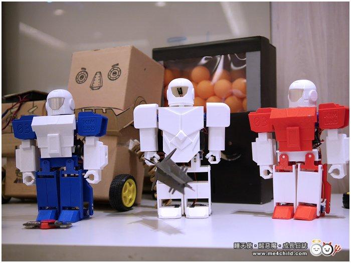 【親子一起動手做】6歲以上小創客,一起來挑戰超好玩「進擊的廢材機器人」