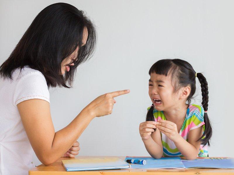 體罰管教孩子的影響