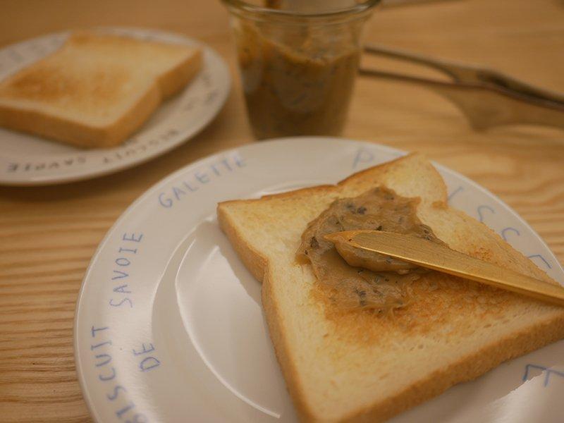 吐司好朋友 簡單自製茶抹醬