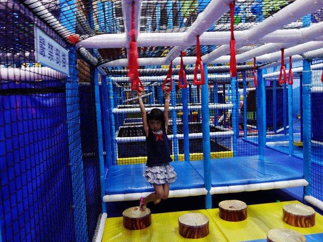 PaPark爬爬客兒童館,爬上爬下的體能遊樂園
