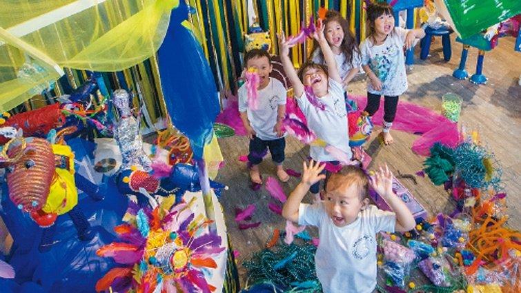 體驗3:玩色彩的野獸國,Wasabi Art Lab兒童藝術空間