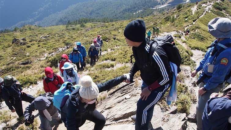 洪敏勝:合歡山上的跨領域超學習