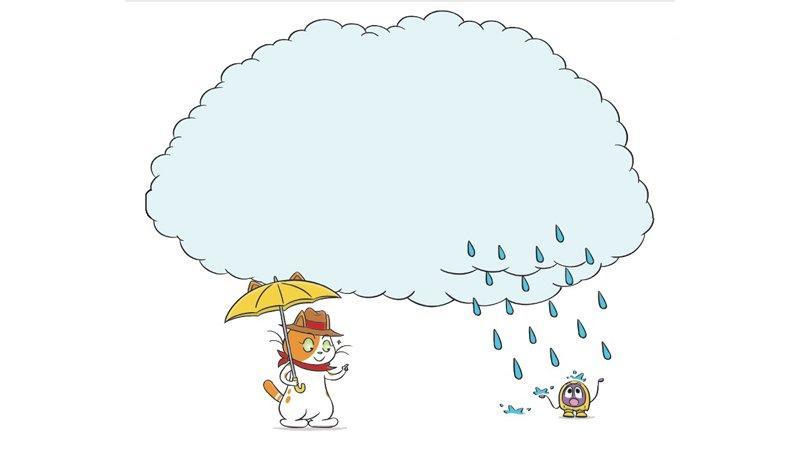 【給父母的科普知識私藏包】天空為什麼會下雨?