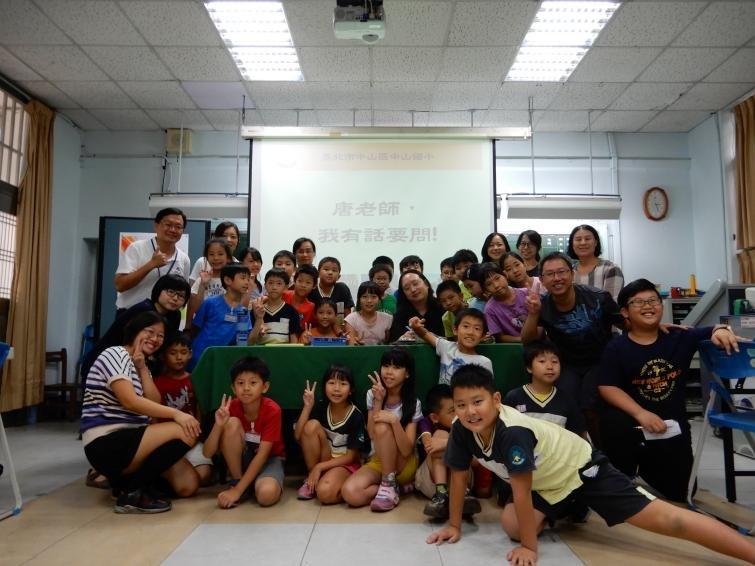 當資優生遇上資優生,唐鳳告訴小朋友和家長的是.....