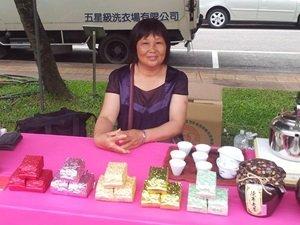 曾達坤用茶香 傳承鹿谷的家鄉味