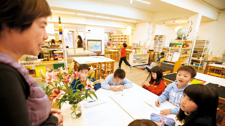 蒙特梭利學校的一天-北市昶心蒙特梭利:民生社區都是我們的教室