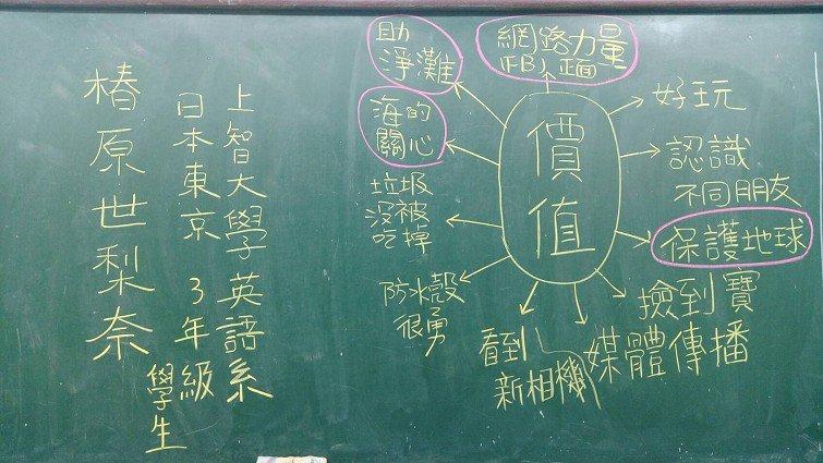 大海漂來公民素養課:宜蘭岳明國小淨灘撿相機