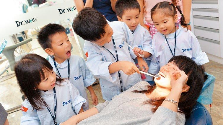 牙醫體驗營 從小建立看牙好戲