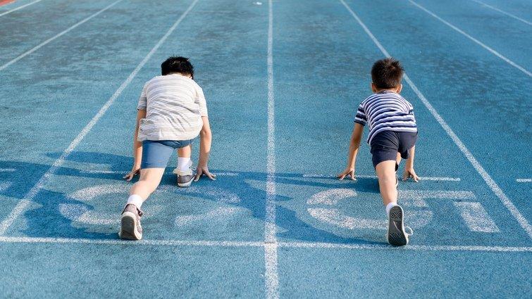 孩子,這是一條飄移的起跑線!