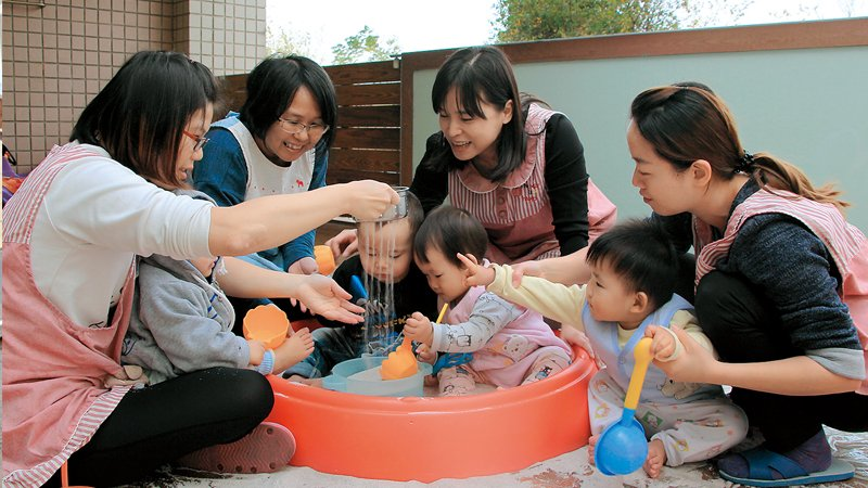 台中市沙鹿托嬰中心 為每個孩子量身打造,用自己的步調學習