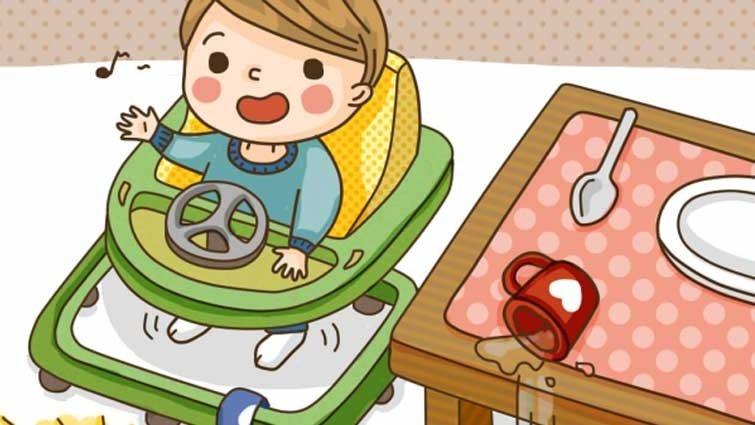 究竟該不該給讓寶寶坐學步車?