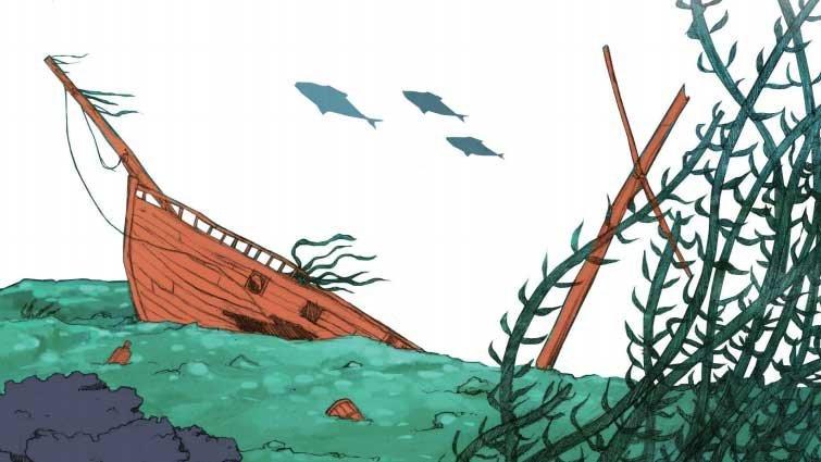 【偵探館】《三個問號偵探團》教案分享:幽靈船
