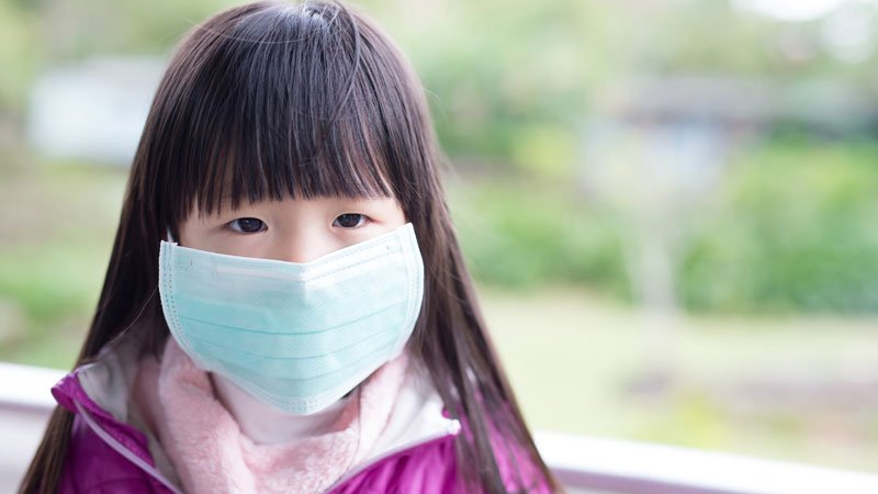 為什麼孩子不戴口罩?