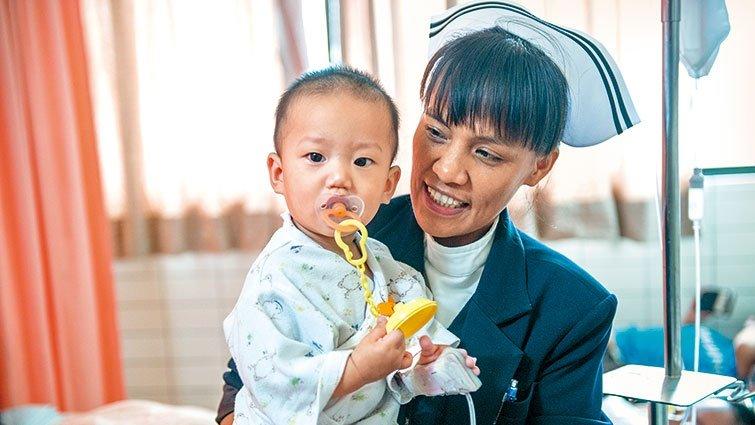 慈濟兒科護理督導鄭雅君:下次,我們在醫院外當朋友