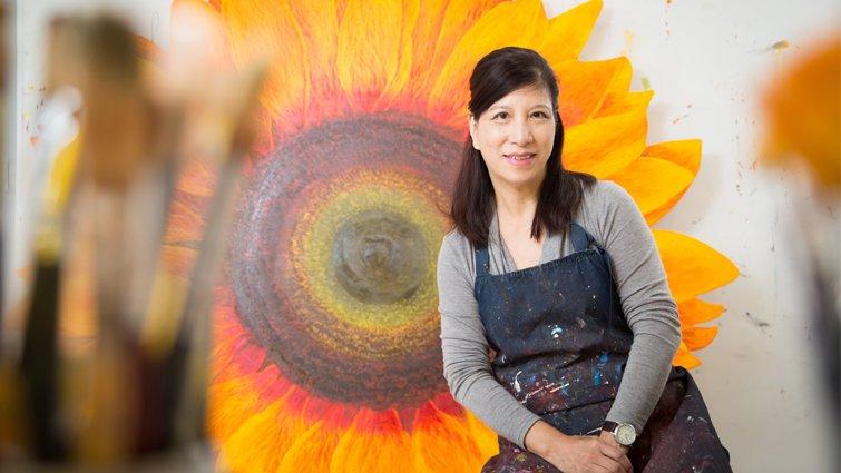 藝術家鄭麗雲:孩子是我最好的畫畫老師