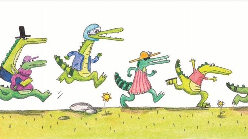在幽默中培養主見與思辨力──你確定鱷魚們真的在追母雞嗎?