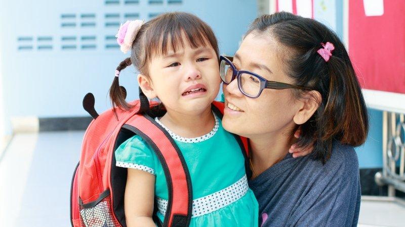 何翩翩:父母如何面對孩子的分離焦慮?