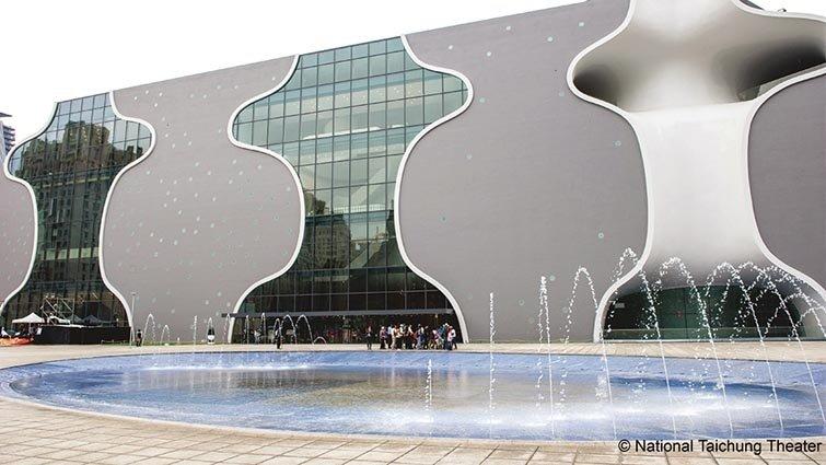 建築大師伊東豊雄設計的臺中國家歌劇院啟用