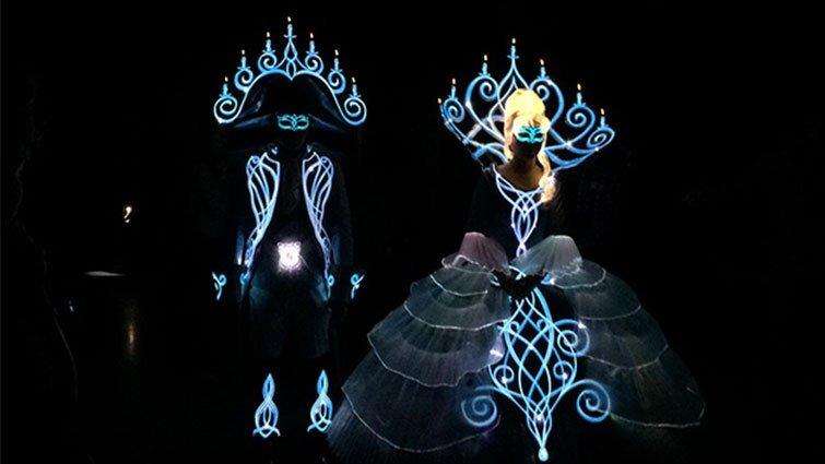 迪士尼會發光的夜明衣 台灣做的
