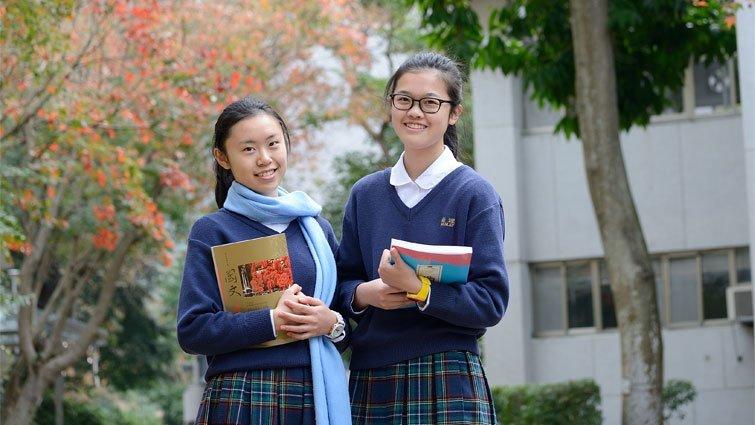 台北市衛理女中國中部:全校女生住校的單純美感