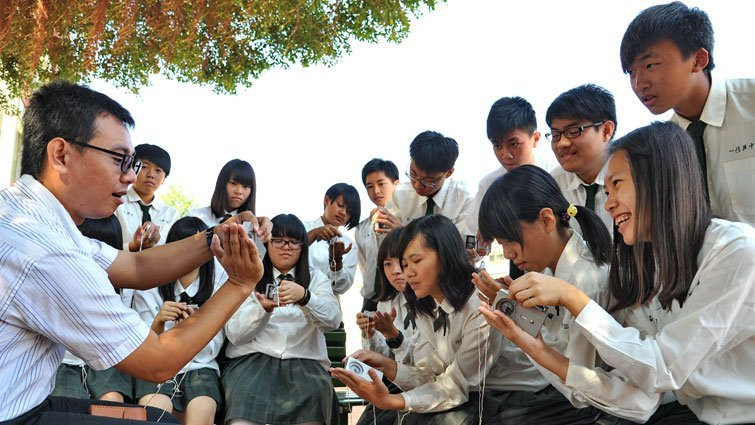 屏東縣陸興中學國中部:適性教學,英數理分級上課