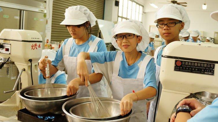 新竹縣仰德高中國中部:多元課程協助職業試探