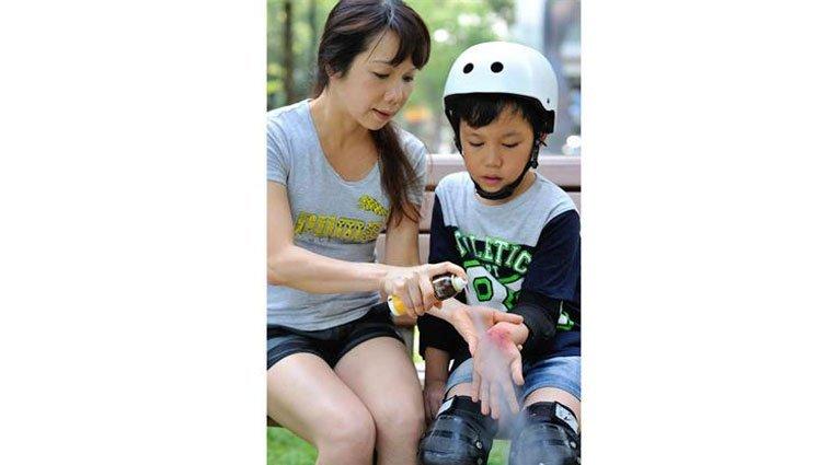 孩子常見5傷口 不碰不痛照護有一套