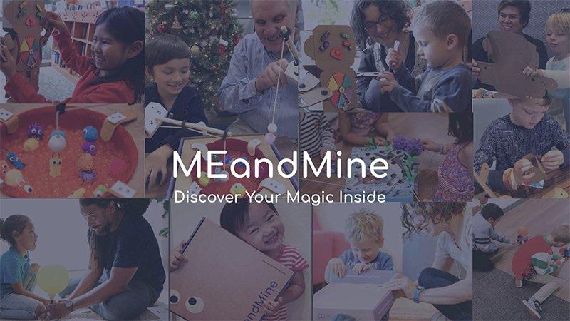 教育新創20+︱MEandMine驚喜玩具盒,玩出情商社交力