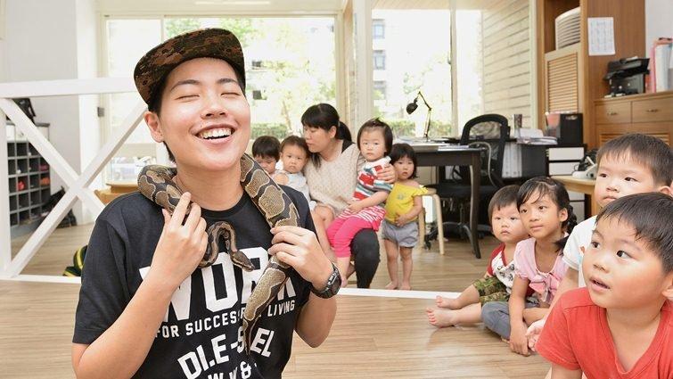 昆蟲老師吳沁婕教學筆記 : 特殊的孩子,更需要溫柔對待
