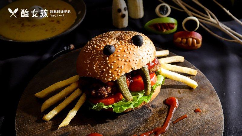 萬聖節親子搞怪,蜘蛛漢堡、小鬼南瓜湯、大眼怪水果盤…造型大餐嚇嚇叫上菜!