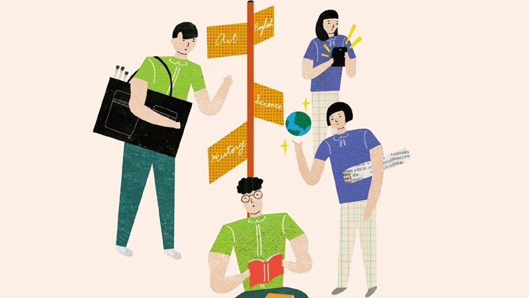 從標準化套餐學習轉向個人化自助餐