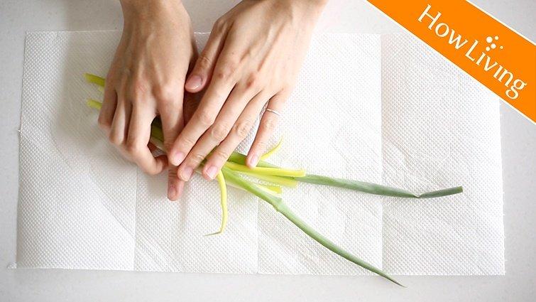 青蔥不變黃!2個秘訣教你如何保存蔥