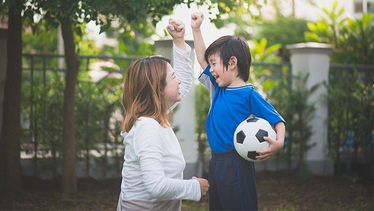 謝文憲:用運動擁抱家庭,用投入改變人生