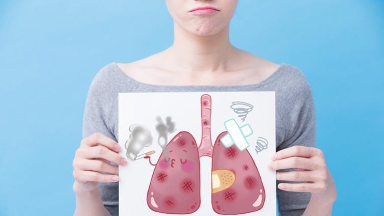 國健署:台灣女性肺癌發生率增加 每萬人中有3人得