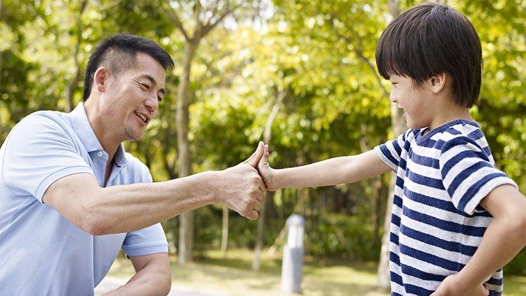 爸爸的模樣,發現孩子作文中的父親群像