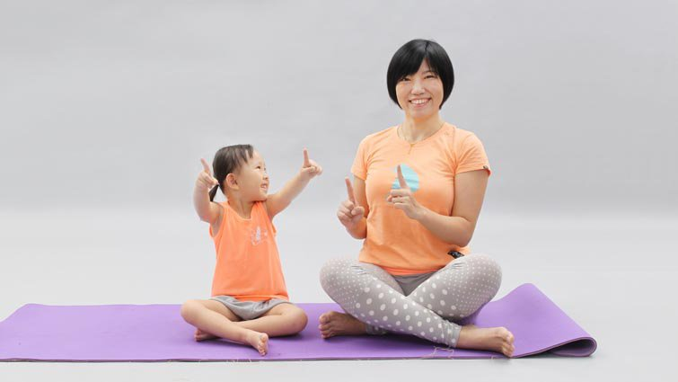 煩躁、食欲差、懶洋洋 兒童瑜伽掃除三大暑假病