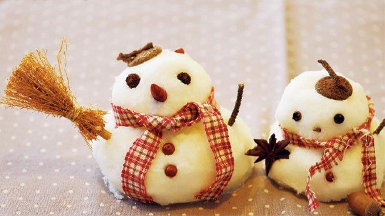 冬天的自然禮物!雪人果實
