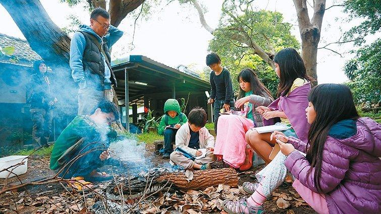 暖暖蛇小學共學團:全台都是我們的探索大教室