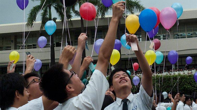 雲林縣揚子高中國中部:給學生主導活動的空間