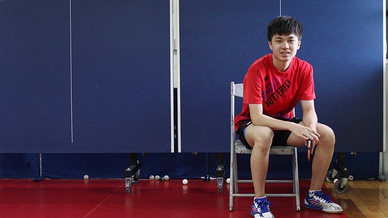 18歲「桌球一哥」林昀儒:我不是神童,只是堅持打好每一顆球