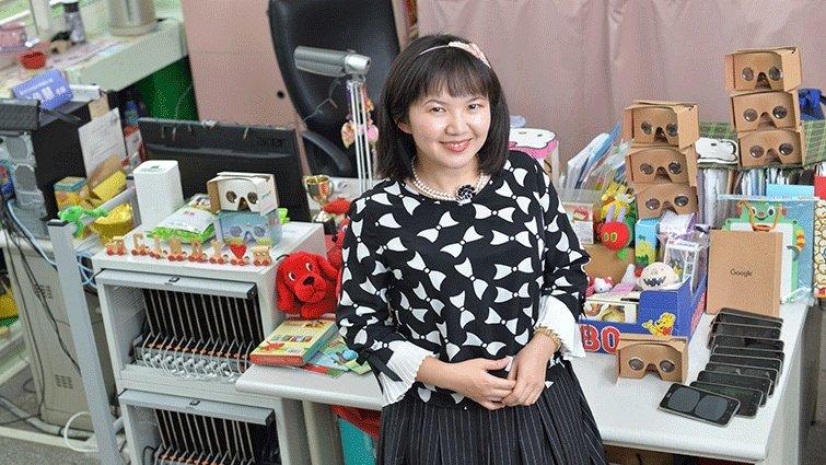天母國小英文老師沈佳慧,看見孩子的需要,不為科技而科技