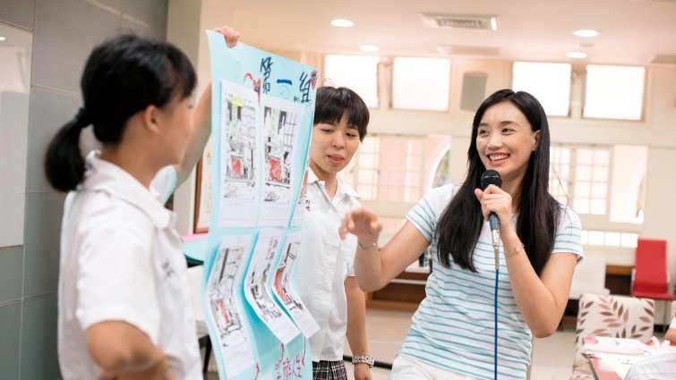 新北市丹鳳高中圖書館主任 宋怡慧 畢業了,還有閱讀能陪孩子一輩子