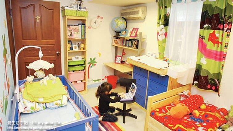 2坪小孩房改造超大收納空間!!