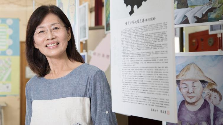 雄女美術老師劉癸蓉:第一志願看起來好棒,為什麼學生還覺得自己這麼差?