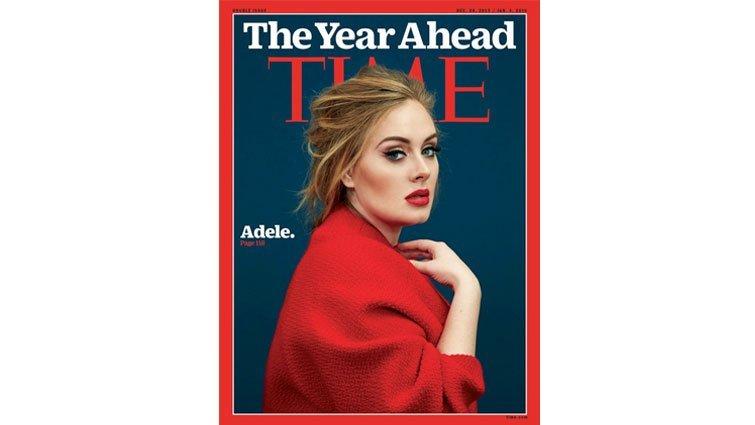 《時代》封面人物 27歲歌手愛黛兒:平凡,造就非凡